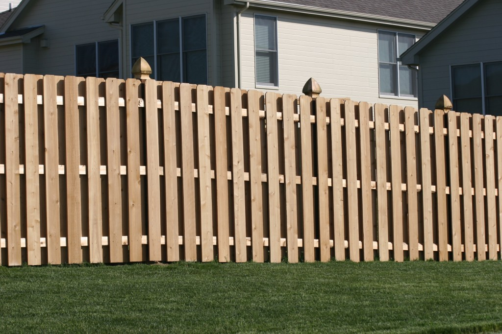 AmeriFence Corporation Madison, Wisconsin - Wood Fencing, 1009 6' board on board