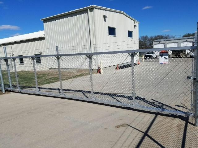 Cantilever gate - AmeriFence Corporation of Madison - fencing Madison, WI