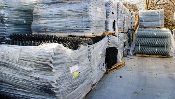bulk high security fence materials