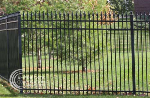 Fence Company Madison, WI ornamental custom metals decorative rail picket posts powder coating Montage Aegis Echelon Stalwart Ameristar Fortress Forester Beta Guardiar Master Halco Stephens Pipe Jamieson security quad flare spear flat top flore deliss iron steel aluminum commercial industrial classic majestic genesis warrior  panels posts caps rails prices