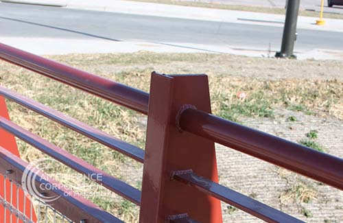Madison Fence Company railings stair railing balcony joilet commercial architectural industrial