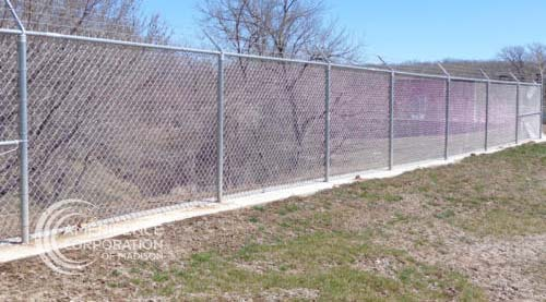 Madison Fence Contractor ballfield baseball field softball field football field complex pickle ball courts basketball tennis courts track peewee elementary junior high high school college professional community chain link wood ornamental backstop dugouts outfield batter's eye
