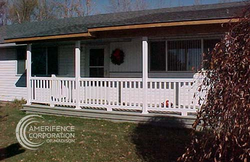 Madison Fence Contractor residential railings stair railing balcony joilet architectural industrial Madison Fence Company