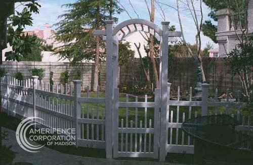 Madison Fence Contractor pergollas pergolas arbors arches gazebos mail boxes garden arch gate arch - Madison Fence Company