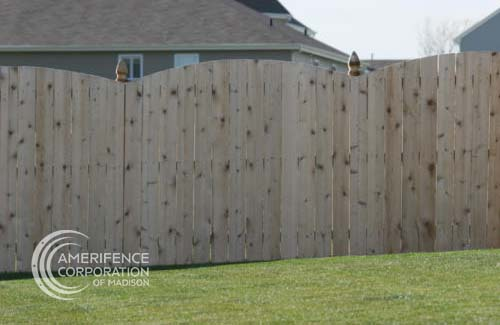 """Madison fencing company residential fence contractors Madison, Wisconsin wood fencing cedar western red cedar treated pine white red yellow CCA ACQ2 incense fir 2x4 1x6 2"""" x 4"""" 1"""" x 6"""" nails stain solid privacy picket scalloped board on board shadow box pickets rails posts installation panels post caps modern horizontal backyard front yard ranch gate garden diy split rail house lattice old rustic vertical metal post picket dog ear contemporary custom"""