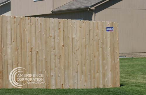 """Madison fencing company residential fence contractors Wisconsin cedar western red cedar treated pine white red yellow CCA ACQ2 incense fir 2x4 1x6 2"""" x 4"""" 1"""" x 6"""" nails stain solid privacy picket scalloped board on board shadow box pickets rails posts installation panels post caps modern horizontal backyard front yard ranch gate garden diy split rail house lattice old rustic vertical metal post picket dog ear contemporary custom"""