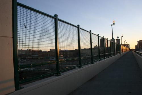 """Madison fence company commercial fencing contractors Minnesota welded wire mesh square welded wire mesh  woven wire crimped wire ¼"""" 1/8"""" 4 6 9 10 11 14 gauge architectural mechanical screening screen louvered semi private private solid staggered board on board shadow box alternating ametco barnett and bates industrial louvers rooftop louvers beta orsogrill omega chillers generators truck wells outside storage condensers rooftop equipment patios trash dumpsters transformers HVAC courtyards pool equipment fence aluminum galvanized steel degree of openness direct visibility standalone wall louvers  green screen trellis screen plant screen"""